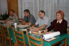 Předsednictvo Klubu filatelistů Trutnov