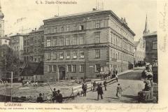 Trutnov - nová pošta, rok 1905