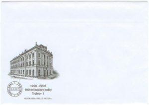 Obálka ke 100 letům pošty Trutnov