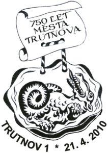 Poštovní razítko Trutnov 2010
