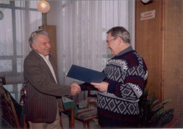 Ocenění Antonína Riegera