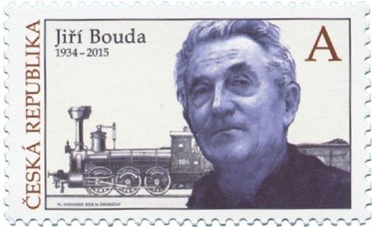 Známka ČR č. 958 - Jiří Bouda