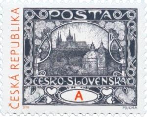 Poštovní známka ČR č. 963 - Hradčany