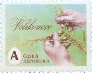 Poštovní známka ČR č. 964 - Velikonoce
