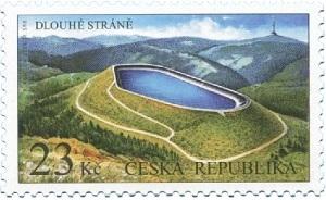 Poštovní známka ČR č. 974 - Dlouhé Stráně