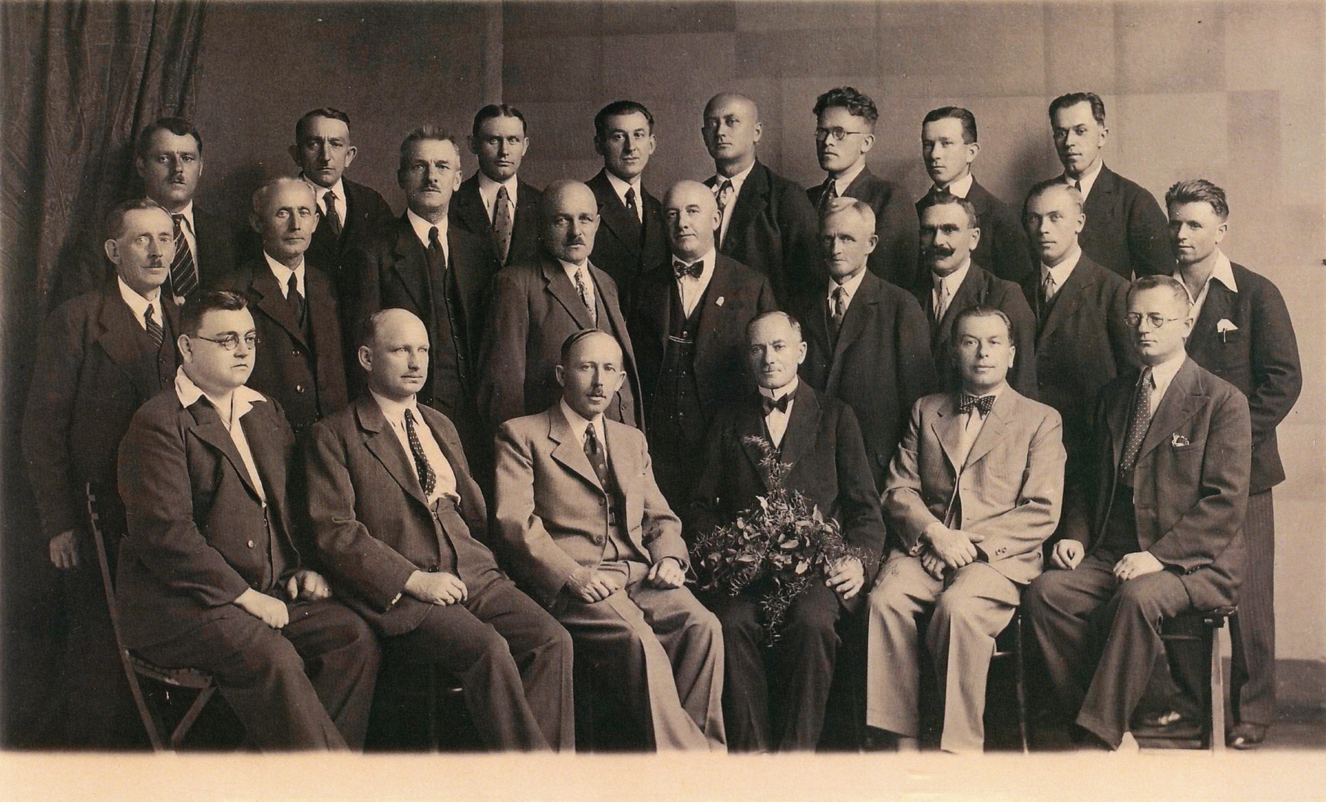 Členstvo KF Trutnov v roce 1935