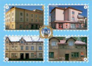 Pohlednice Trutnovské pošty