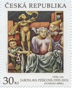 Poštovní známka ČR č. 954