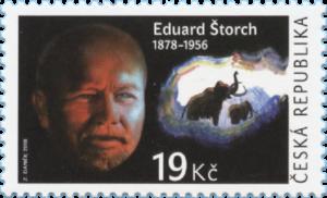 Poštovní známka ČR č. 976 - Eduard Štorch