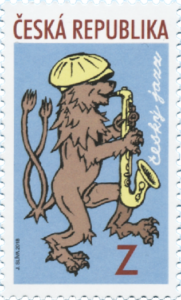 Poštovní známka ČR č. 979 - Český jazz