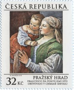 Poštovní známka ČR č. 980 - Francesco da Ponte