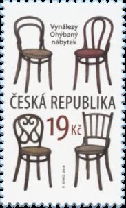 Poštovní známka ČR č. 981 - Ohýbaný nábytek