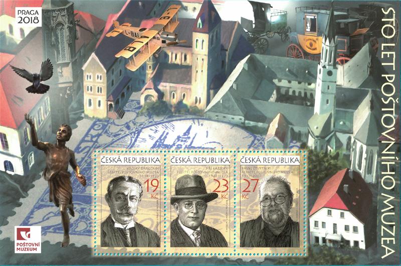 A988-990 - 100 let Poštovního muzea