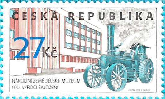 Známka ČR č. 997 - Národní zemědělské muzeum