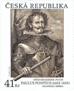 Známka ČR č. 1012 - Paulus Pontius: Diego de Guzmán