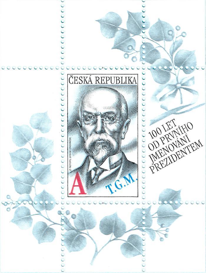 Aršík ČR č. A1014 - Tomáš Garrigue Masaryk