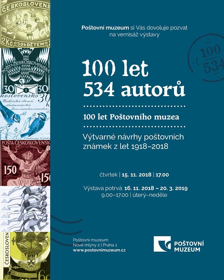 Výstava 100 let Poštovního muzea