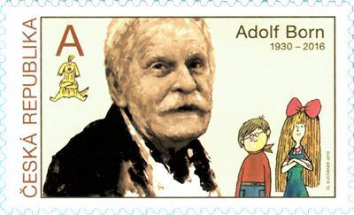 Známka ČR č. 1016 - Adolf Born