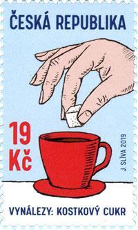 Známka ČR č. 1024 - České vynálezy: Kostkový cukr