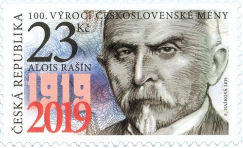 Známka č. 1025 - Alois Rašín