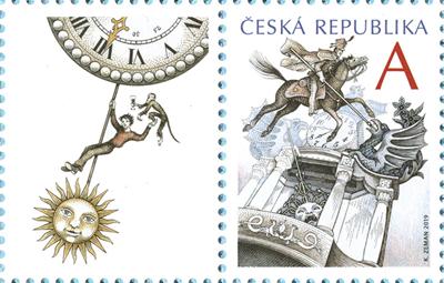 Známka ČR č. 1044 - Vítěz nad časem