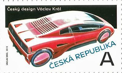 Známka ČR č. 1045 - Český design: Václav Král