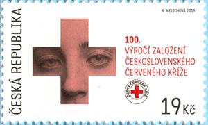 Známka ČR č. 1053 - 100 let Československého červeného kříže
