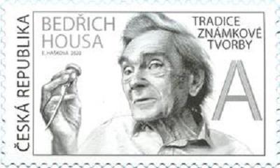 Známka ČR č. 1056 - Bedřich Housa