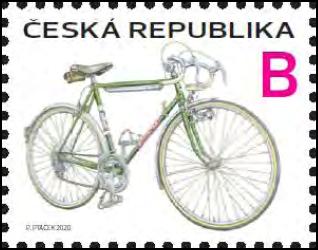 Poštovní známka ČR č. 1059 - Kolo Favorit