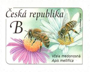 Známka ČR č. 1069 - Včela medonosná
