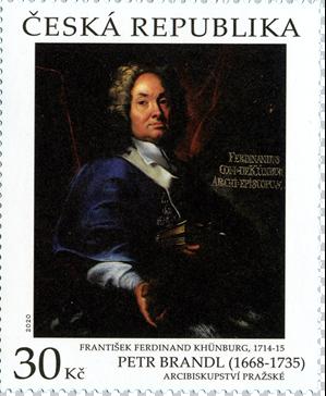 Poštovní známka ČR č. 1075 - Arcibiskupství pražské