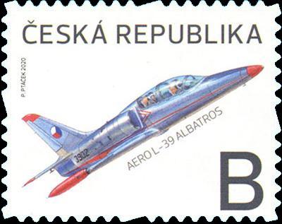 Poštovní známka ČR č. 1087 - Aero L39 Albatros