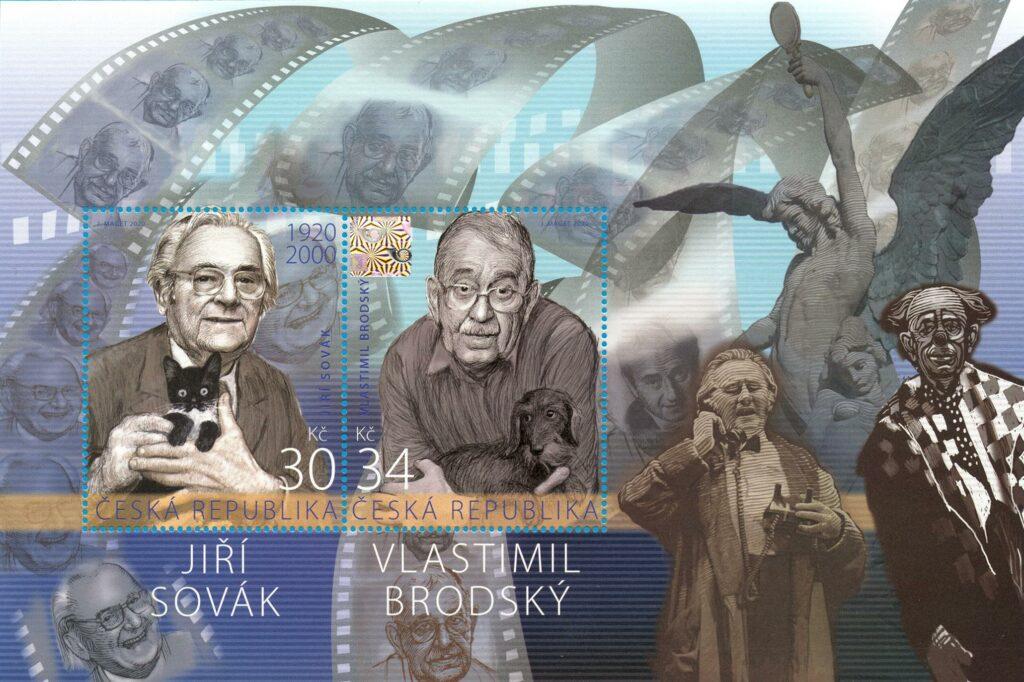 Aršík ČR č. A1091/1092 - Čeští herci