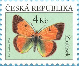 Známka ČR č. 1094: Žluťásek čilimníkový