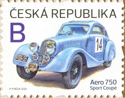 Známka ČR č. 1095: Aero 750 Sport Coupé