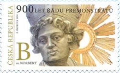 Poštovní známky ČR č. 1102 - Premonstrátský řád